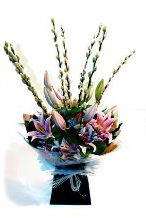 Pink Hand Tied Lillie